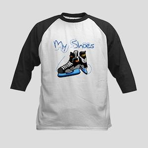 Skates My Shoes Kids Baseball Jersey