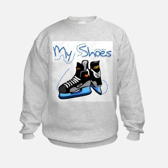 Skates My Shoes Sweatshirt