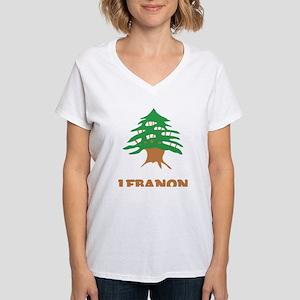 Lebanon Women's V-Neck T-Shirt