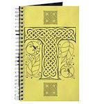 Celtic Letter T Journal