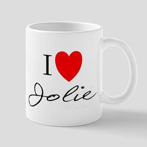 I heart Jolie Mug
