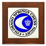 Colorado Springs Chess Night Framed Tile