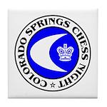 Colorado Springs Chess Night Tile Coaster