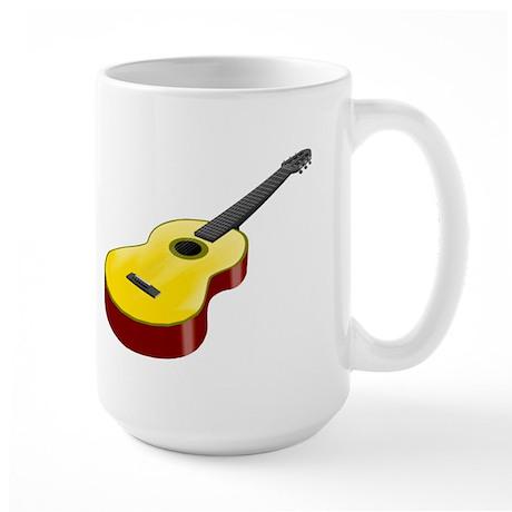 """""""Acoustic Guitar"""" Large Mug"""