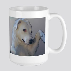 Large Mug featuring Dolly the Akbash Dog