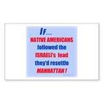 Native Americans resettle Man (Rectangle 10 pk)