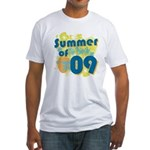 Summer of 09 Fitted T-Shirt