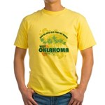 Visit Oklahoma Yellow T-Shirt