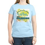 Visit Oklahoma Women's Light T-Shirt