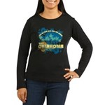 Visit Oklahoma Women's Long Sleeve Dark T-Shirt