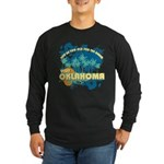 Visit Oklahoma Long Sleeve Dark T-Shirt