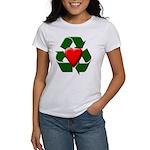 Recycle Heart Women's T-Shirt