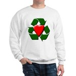 Recycle Heart Sweatshirt