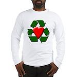 Recycle Heart Long Sleeve T-Shirt