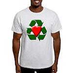 Recycle Heart Light T-Shirt
