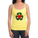 Recycle Heart Jr. Spaghetti Tank