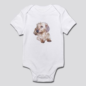 Fawn Wire Haired Infant Bodysuit