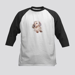 Fawn Wire Haired Kids Baseball Jersey