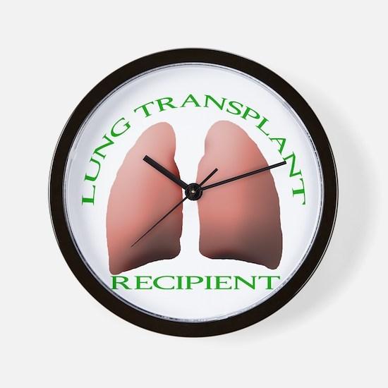 Lung Transplant Wall Clock