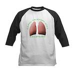 Lung Transplant Kids Baseball Jersey