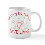 Organ Donors Save Lives Mug