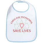 Organ Donors Save Lives Bib