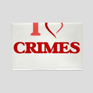 I love Crimes Magnets
