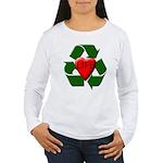 Recycle Life Women's Long Sleeve T-Shirt