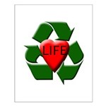 Recycle Life Small Poster