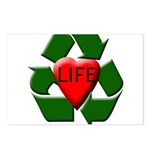 Recycle Life Postcards (Package of 8)