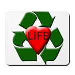 Recycle Life Mousepad