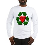 Recycle Life Long Sleeve T-Shirt