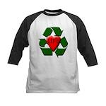 Recycle Life Kids Baseball Jersey