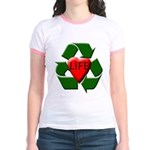 Recycle Life Jr. Ringer T-Shirt
