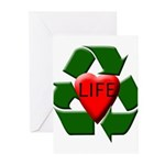 Recycle Life Greeting Cards (Pk of 10)