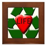 Recycle Life Framed Tile