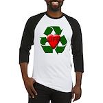 Recycle Life Baseball Jersey