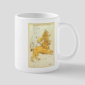 Vintage Celestial Zodiac, Leo Mug