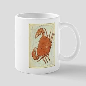 Vintage Celestial Zodiac, Cancer Mug