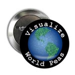 "Visualize World Peas 2.25"" Button (10 pack)"