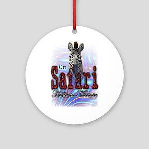 On Safari - Ornament (Round)