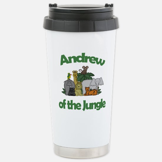 Andrew of the Jungle Stainless Steel Travel Mug