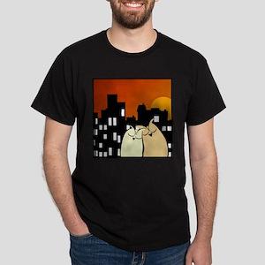 Night Owls (Square) Dark T-Shirt