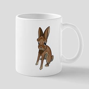 Red Belgian Hare Mug
