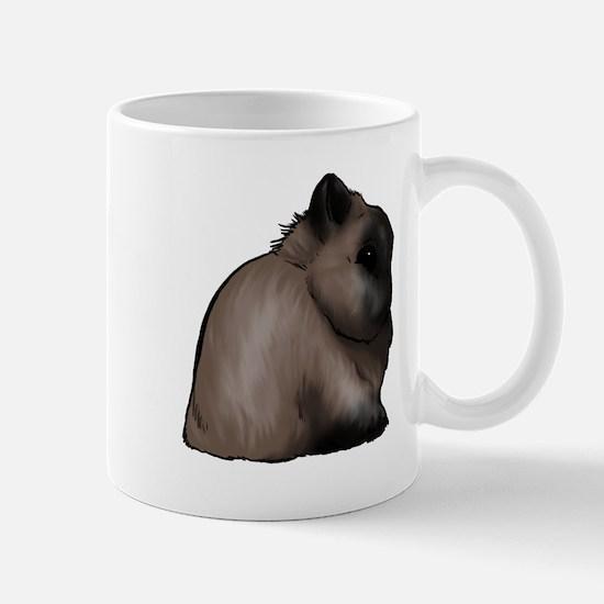 Sable Netherland Dwarf Mug