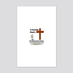 A Humble Heart Mini Poster Print