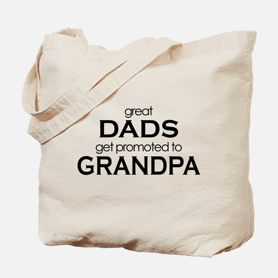 grandpa t-shirts great dads Tote Bag