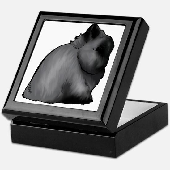 Smoke Pearl Netherland Dwarf Keepsake Box