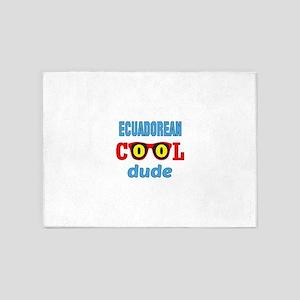 Ecuadorean Cool Dude 5'x7'Area Rug
