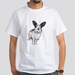 Broken Blue Mini Rex White T-Shirt